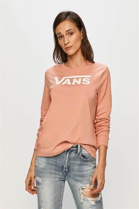 Vans - Hosszú ujjú szín rózsaszín