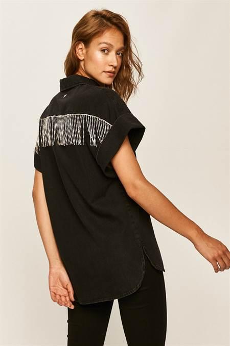 Guess Jeans - Farmering szín fekete