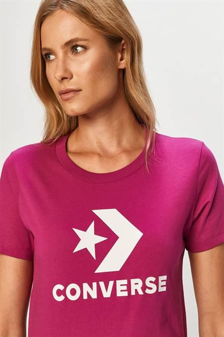 Converse - T-shirt szín lila
