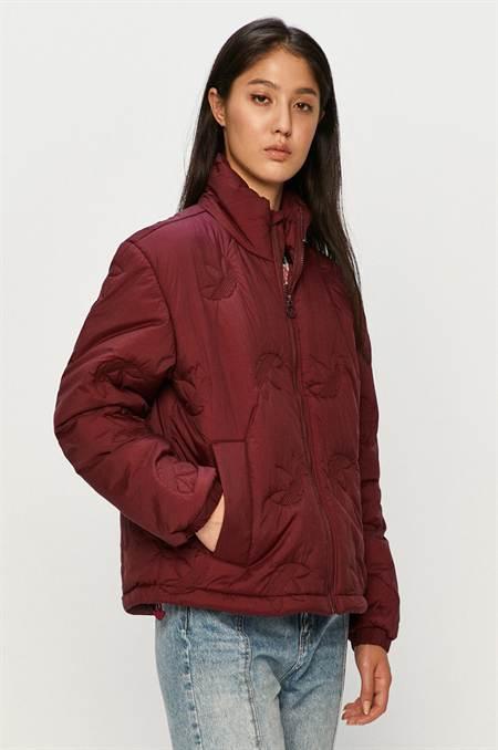 adidas Originals - Rövid kabát szín lila