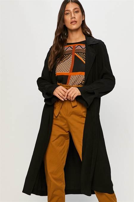 Answear - Kabát Answear Lab szín fekete
