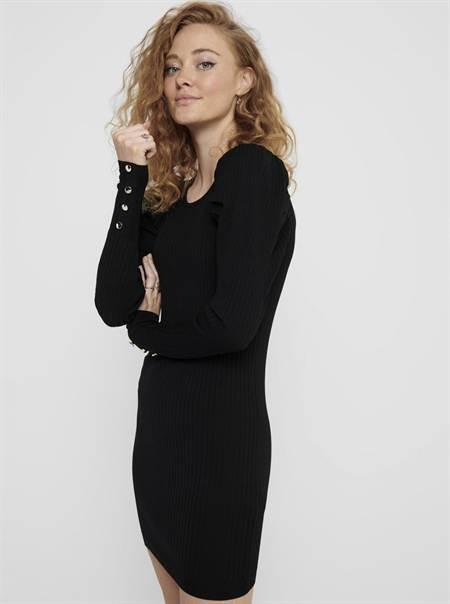 Fekete pulóverruha CSAK Avy