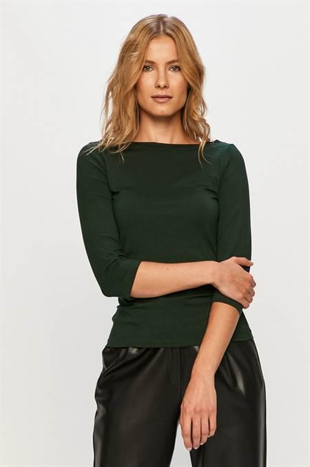 Vero Moda - Hosszú ujjú szín zöld
