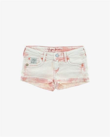 Pepe Jeans Gyerek Rövidnadrág Rózsaszín Fehér