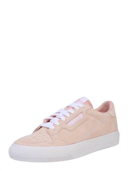 ADIDAS ORIGINALS Rövid szárú edzőcipők 'CONTINENTAL VULC'  fehér / rózsaszín