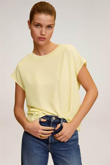 Mango - Felső Chemabri szín sárga