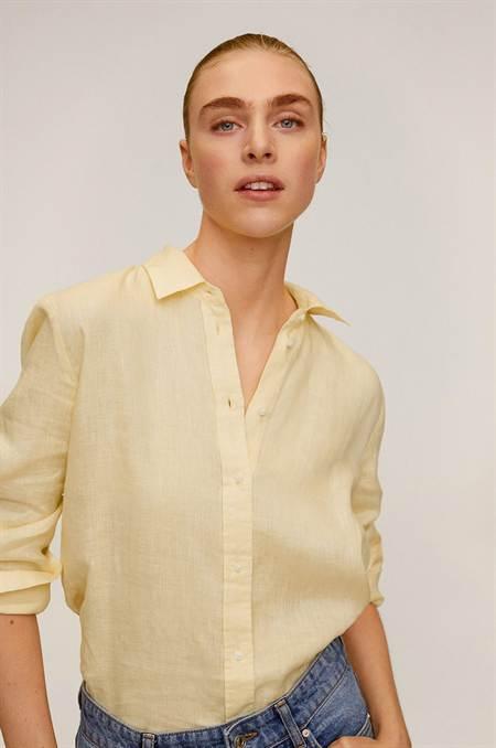Mango - Ing Lino szín sárga