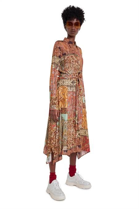 Desigual színes ing ruha Vest Estambul