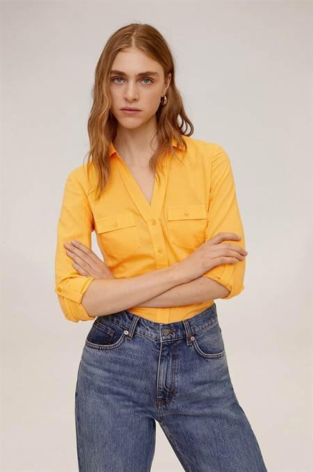 Mango - Ing Planita szín sárga