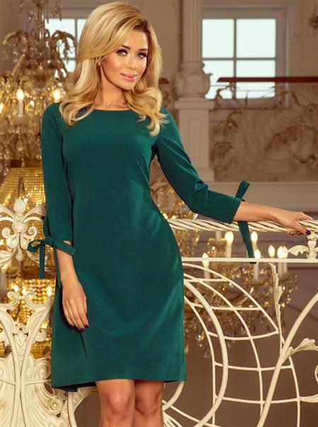 Sötétzöld numoco ruha