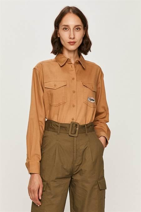 Tommy Jeans - Farmering szín barna