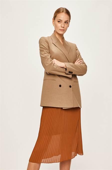 Calvin Klein - Kiskabát szín barna