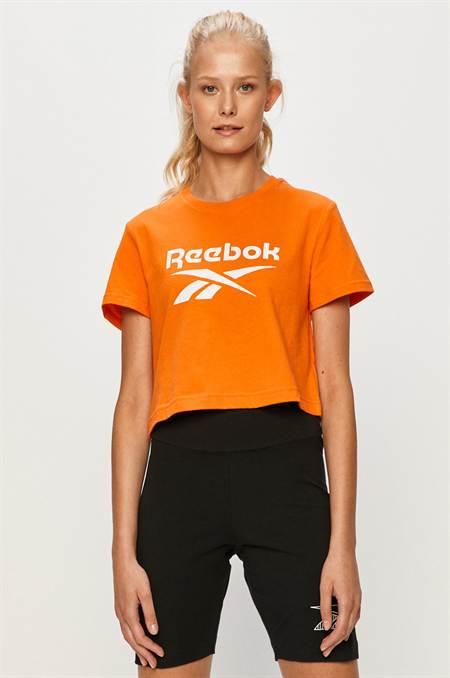 Reebok Classic - T-shirt szín narancssárga