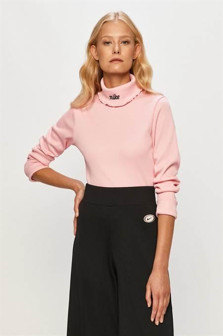 Nike Sportswear - Hosszú ujjú szín rózsaszín