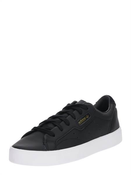 ADIDAS ORIGINALS Rövid szárú edzőcipők 'Sleek'  fekete