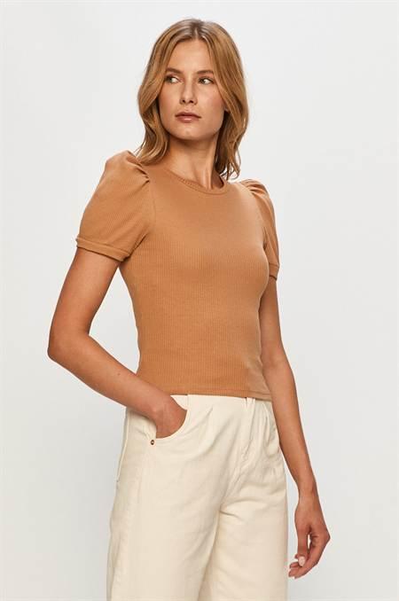 Brave Soul - T-shirt szín barna